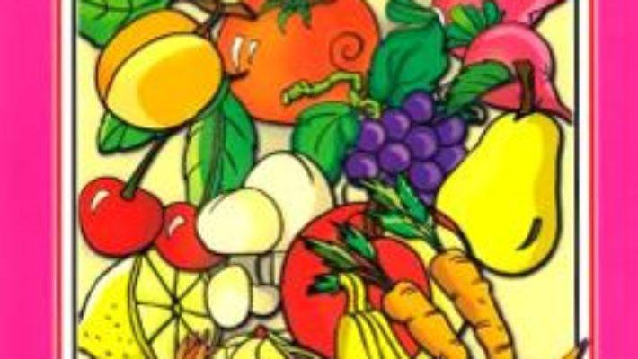 Cartea Sa invatam… legume si fructe. Carte de colorat – Dana Popescu (download, pret, reducere)