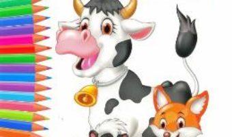 Cartea Carte de colorat cu animale (download, pret, reducere)