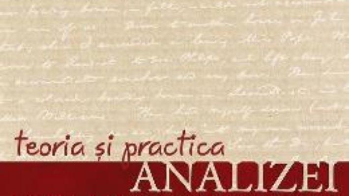 Cartea Teoria si practica analizei gramaticale – G.G. Neamtu (download, pret, reducere)