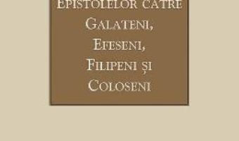 Cartea Tilcuirea Epistolelor catre Galateni, Efeseni, Filipeni si Coloseni – Sfantul Teofilact al Bulgariei (download, pret, reducere)