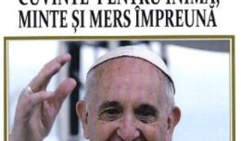 Cartea Cuvinte pentru inima, minte si mers impreuna – Papa Francisc, Diane Houdek (download, pret, reducere)