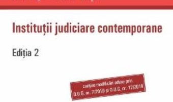 Cartea Institutii judiciare contemporane ed.2 – Ioan Les, Daniel Ghita (download, pret, reducere)