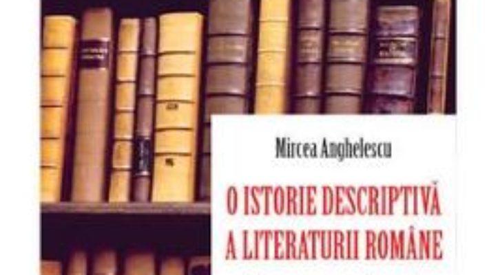 Cartea O istorie descriptiva a literaturii romane. Epoca premoderna – Mircea Anghelescu (download, pret, reducere)