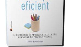 Cartea Audiobook. Munceste eficient – Carson Tate (download, pret, reducere)
