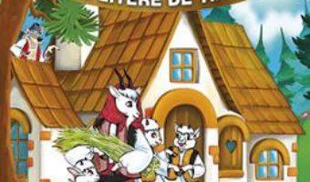 Cartea Capra cu trei iezi – Sa citim cu litere de tipar (download, pret, reducere)