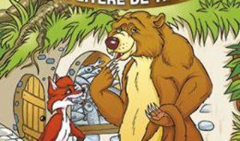 Cartea Ursul pacalit de vulpe – Sa citim cu litere de tipar (download, pret, reducere)