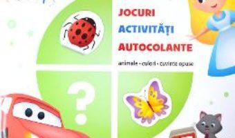Cartea Disney. Jocuri, activitati, autocolante. Animale, culori, cuvinte opuse (download, pret, reducere)