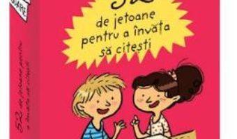Cartea 52 de jetoane pentru a invata sa citesti – Emmanuelle Polimeni (download, pret, reducere)