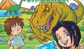 Cartea Desenez dinozauri – cu sabloane (download, pret, reducere)