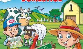 Cartea Desenez animale domestice – cu sabloane (download, pret, reducere)