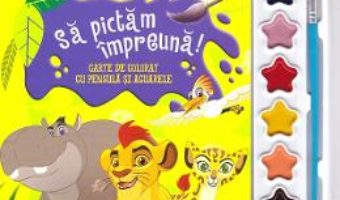 Cartea Disney. Garda felina. Sa pictam impreuna! Carte de colorat cu pensula si acuarele (download, pret, reducere)
