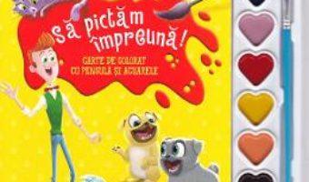 Cartea Disney. Prietenii catelusi. Sa pictam impreuna! Carte de colorat cu pensula si acuarele (download, pret, reducere)