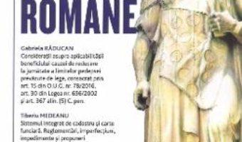 Cartea Pandectele romane 1/2019 (download, pret, reducere)