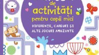 Cartea Carte de activitati pentru copii mici. Diferente, careuri si alte jocuri amuzante – Lucy Bowman (download, pret, reducere)