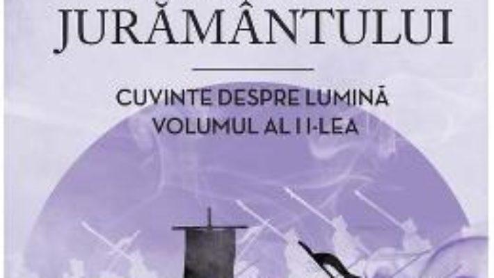 Cartea Poarta juramantului. Cuvinte despre lumina. Vol.2 – Brandon Sanderson (download, pret, reducere)