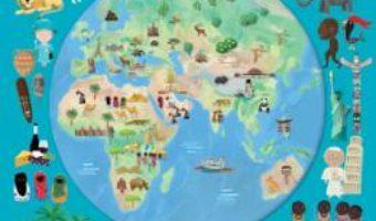 Cartea Atlasul lumii pentru copii. 7 harti uriase si sute de informatii fascinante (download, pret, reducere)