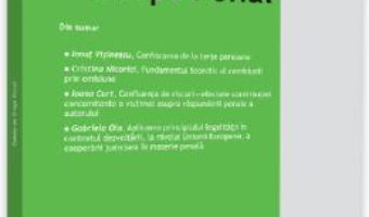 Cartea Caiete de drept penal 1/2019 (download, pret, reducere)