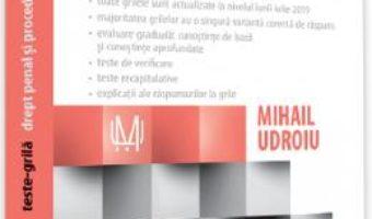 Cartea Teste-grila. Drept penal si procedura penala Ed.10 – Mihail Udroiu (download, pret, reducere)