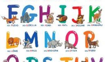 Cartea Alfabetul animalelor in limba germana. Plansa (download, pret, reducere)