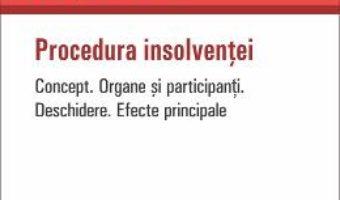 Download  Procedura insolventei – Codrut Nicolae Savu PDF Online