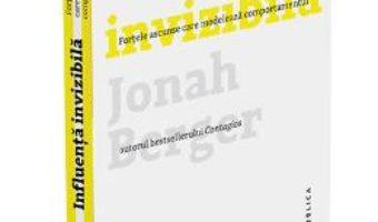 Download  Influenta invizibila – Jonah Berger PDF Online
