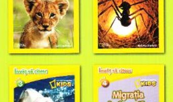 Download  Set 4 volume National Geographic Kids: Citesc si descopar lumea! PDF Online