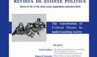 Download  Polis vol.4 nr.4(14) Serie noua Septembrie-noiembrie 2016 Revista de Stiinte Politice PDF Online