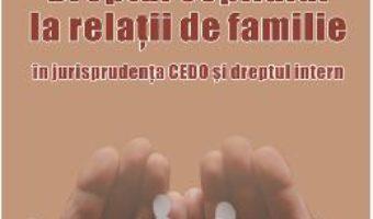 Download  Dreptul copilului la relatii de familie – Milena Tomescu PDF Online