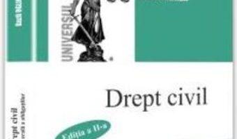 Download  Drept civil. Teoria generala a obligatiilor Ed. 2 – Bazil Oglinda PDF Online