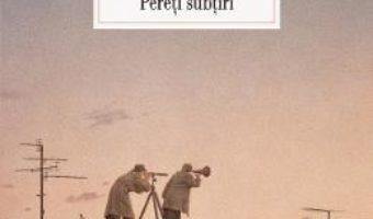 Download Pereti subtiri – Ana Maria Sandu PDF Online