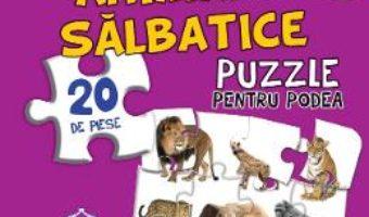 Download Animale salbatice. Puzzle pentru podea 3-6 ani PDF Online