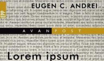 Download Lorem Ipsum – Eugen C. Andrei PDF Online