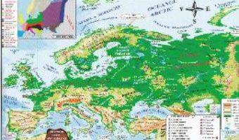 Download Harta Europa Politica + Fizica (pliata) PDF Online