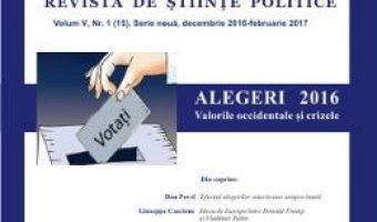 Pret Carte Polis Vol.5 Nr.1(15) Serie noua Decembrie 2016- Februarie 2017 Revista de Stiinte Politice PDF Online