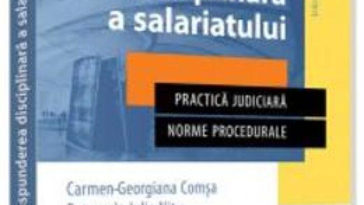 Pret Carte Raspunderea disciplinara a salariatului – Lucia Uta PDF Online