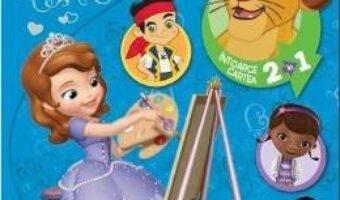 Pret Carte Disney – Coloreaza cu prietenii tai! Aventuri in culori. Intoarce cartea 2 in 1 PDF Online