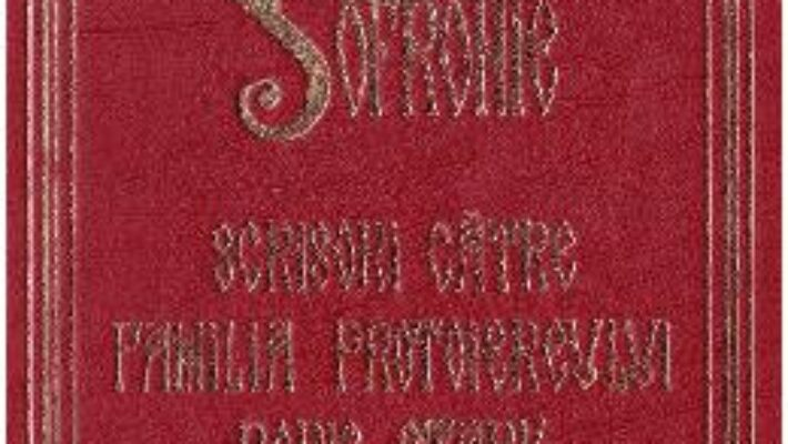 Pret Carte Scrisori catre familia protoiereului Boris Stark – Arhimandritul Sofronie PDF Online
