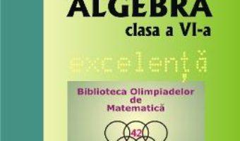 Cartea Algebra – Clasa 6 – Excelenta – Ioan Codreanu, Mihaela Cojocnean (download, pret, reducere)