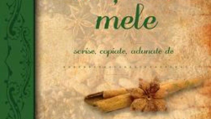 Cartea Agenda: Retetele mele (download, pret, reducere)