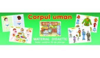 Cartea Planse. Corpul uman (30 planse) (download, pret, reducere)