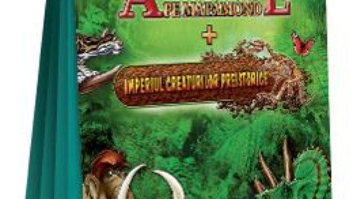 Pret Carte Harti pentru copii – Animale pe mapamond + Imperiul creaturilor istorice PDF Online