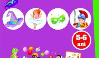 Cartea Ma joc si invat: La carnaval. Activitati integrate 5-6 ani (download, pret, reducere)