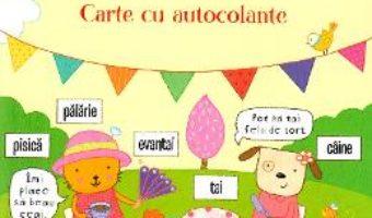 Cartea Ma pregatesc de scoala. Primele cuvinte. Carte cu autocolante (download, pret, reducere)
