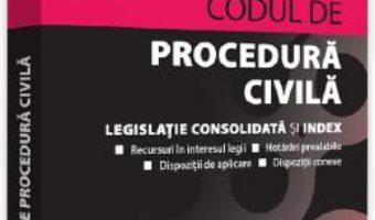 Cartea Codul de procedura civila. Septembrie 2019 – Dan Lupascu (download, pret, reducere)