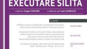Pret Carte Revista romana de executare silita 1 din 2017 – Garbulet Ioan, Huruba Eugen PDF Online