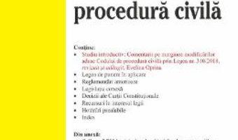 Cartea Codul de procedura civila. Act. 17 septembrie 2019 (download, pret, reducere)