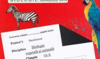 Cartea Ghid pentru Bacalaureat de nota 10 – Clasele 9-10 – Biologie – Stelica Ene (download, pret, reducere)