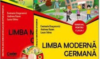Carte Limba moderna germana – Clasa 1. Partea 1 si 2 – Manual + CD – Evemarie Draganovici PDF Online