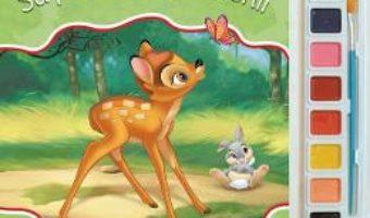 Carte Sa pictam cu prietenii – Carte de colorat cu pensula si acuarele PDF Online