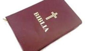 Cartea Biblia mica visinie, cu fermoar (download, pret, reducere)